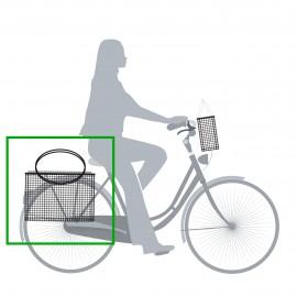 Panier Vélo sacoche escamotable