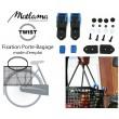 Kit fixation panier-porte bagage