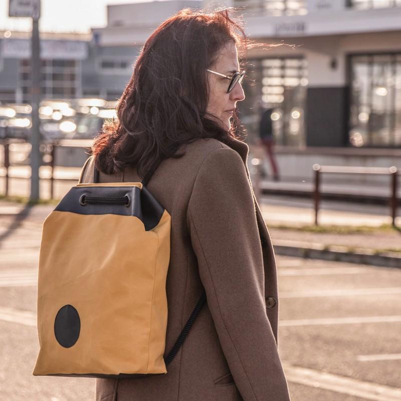 Le sac à dos toile